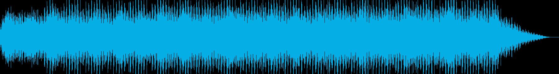 キラキラした感じのシンセのBGM曲です。の再生済みの波形