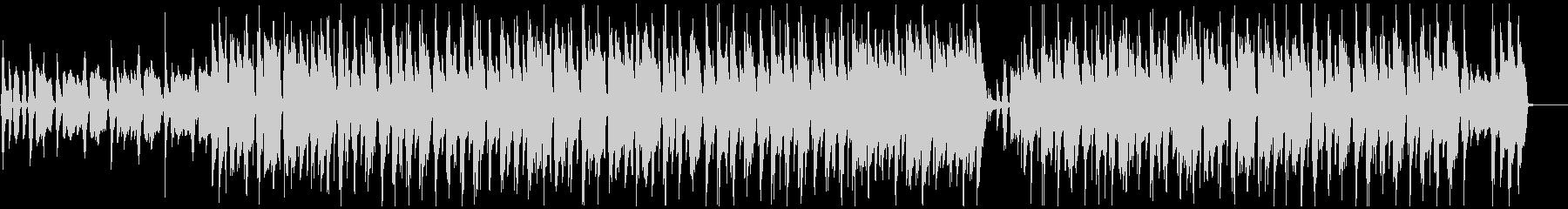 ほのぼの可愛いリコーダーとウクレレの楽曲の未再生の波形