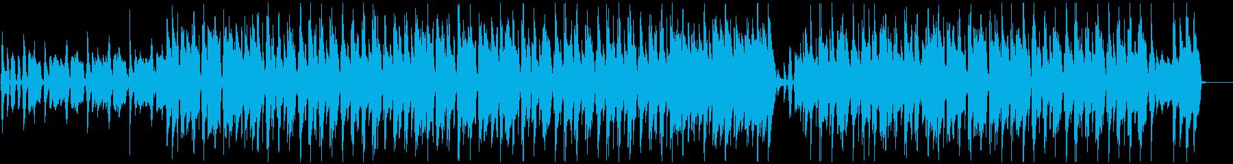 ほのぼの可愛いリコーダーとウクレレの楽曲の再生済みの波形