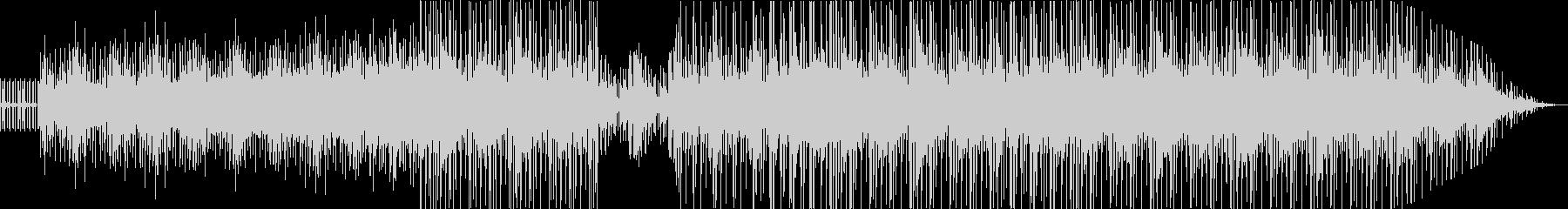暗い雰囲気から明るくなるベルの音楽の未再生の波形
