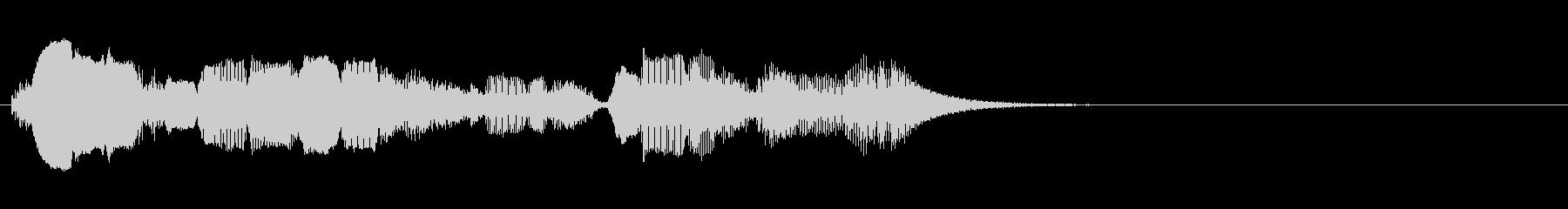 ヴァイオリン:高速タンブルダウン、...の未再生の波形