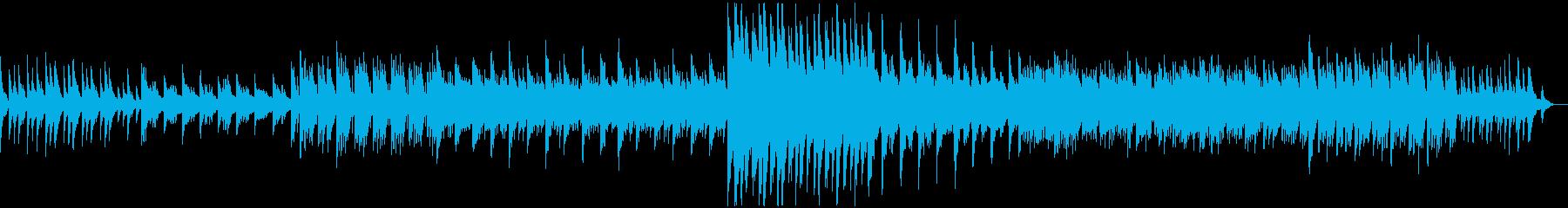 ちょっぴり悲しい系のピアノソロの再生済みの波形