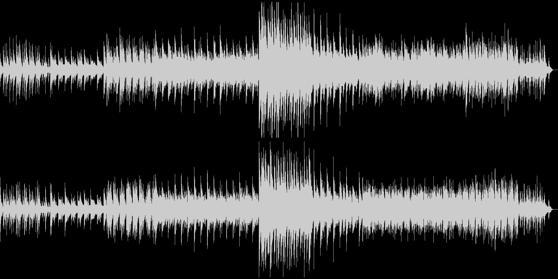ちょっぴり悲しい系のピアノソロの未再生の波形