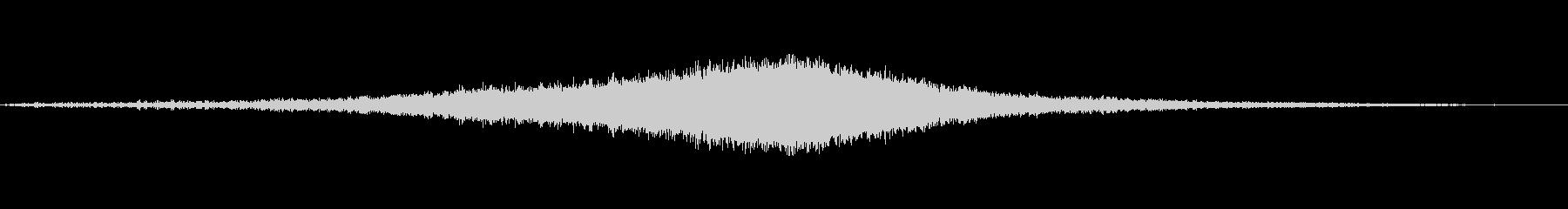 シンバルズ7スウェルの未再生の波形