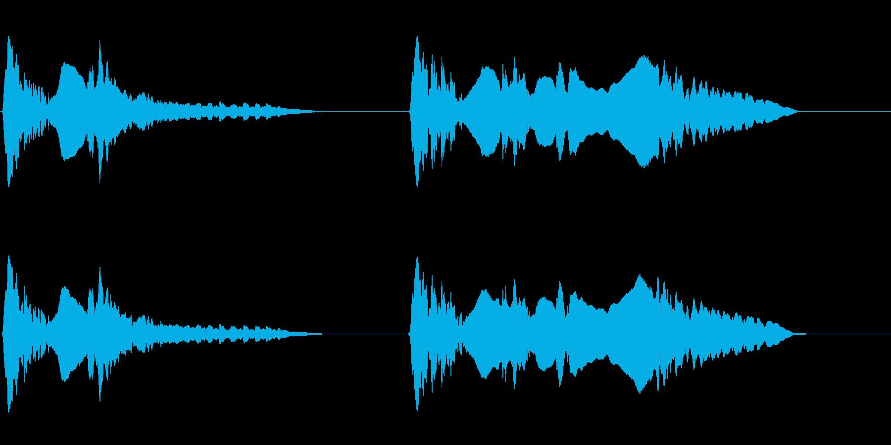 尺八 生演奏 古典風 残響音有 7の再生済みの波形