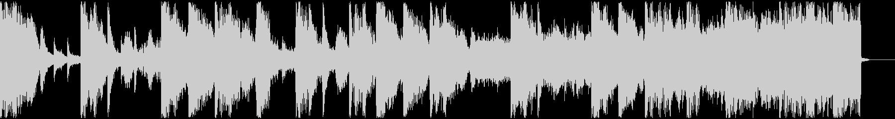 【ミステリアス】ロング1、ショート2の未再生の波形
