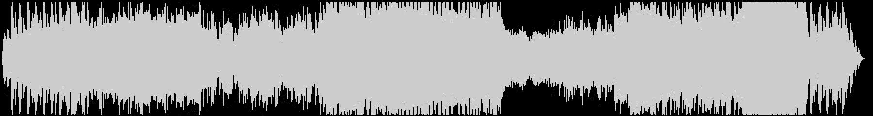 メロディが印象的なボス戦(ループ用)の未再生の波形