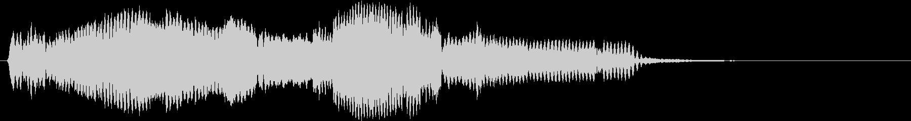 音侍SE「尺八フレーズ1」エニグマ音09の未再生の波形