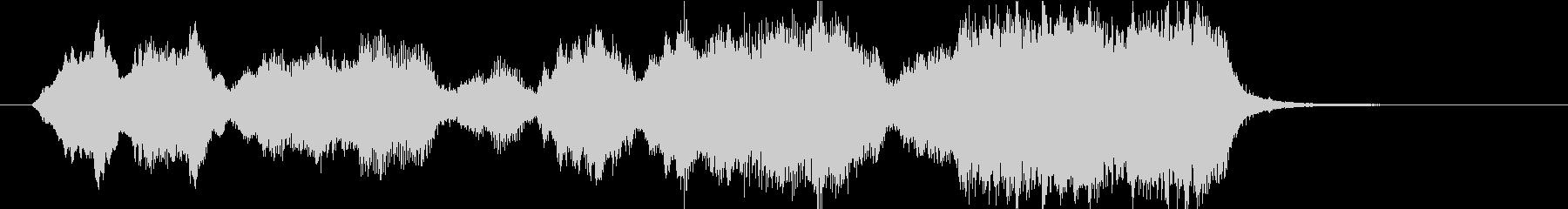 15秒CMサイズの19 弦楽アンサンブルの未再生の波形