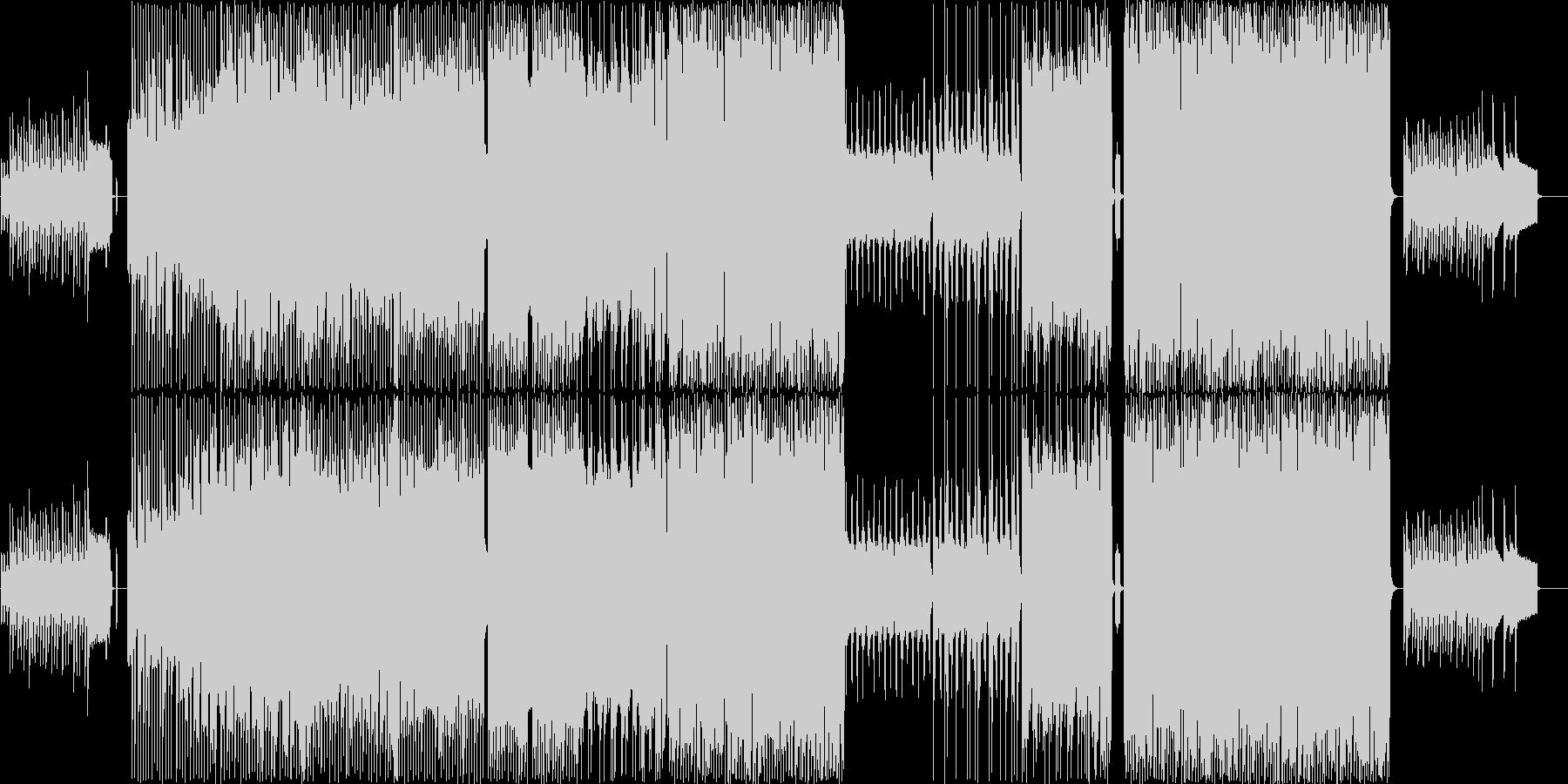 疾走感のあるノリノリなピコピコ曲の未再生の波形