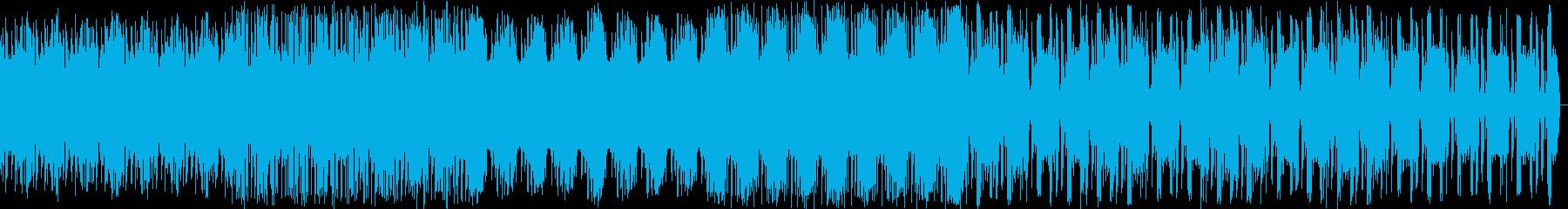 怖い・ホラー・廃墟風BGMの再生済みの波形