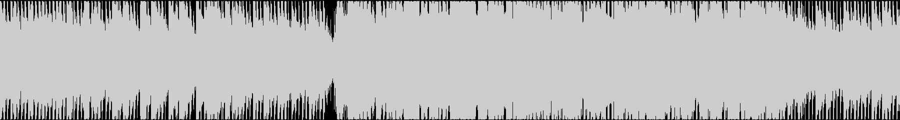 60秒のアナログシンセ 爽やか ループの未再生の波形
