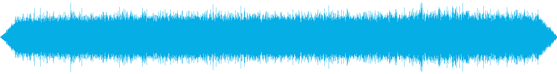The sound of a large waterway waterfall's reproduced waveform