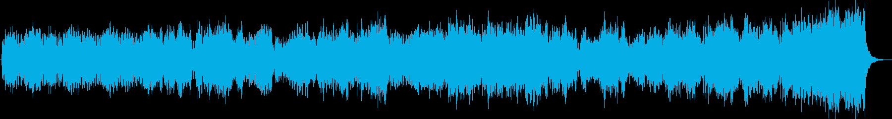 ダーク、ホラー向けオーケストラ 恐怖演出の再生済みの波形