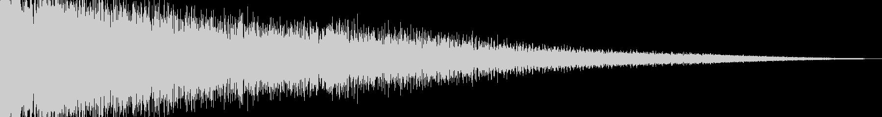 ビームライフル発射音 タイプ3の未再生の波形