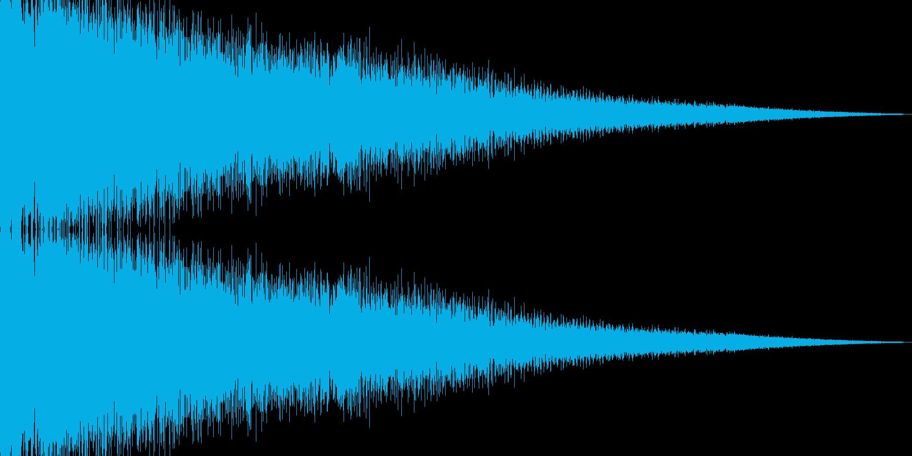ビームライフル発射音 タイプ3の再生済みの波形