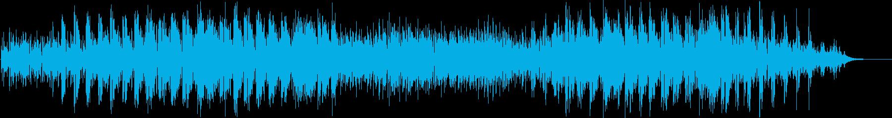 ジャズとボサ、テーマとソロ楽器。の再生済みの波形