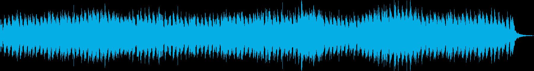 不思議な世界観で独特なメロディーの再生済みの波形