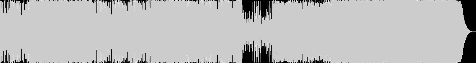 明るく力強いロックサウンドです。の未再生の波形