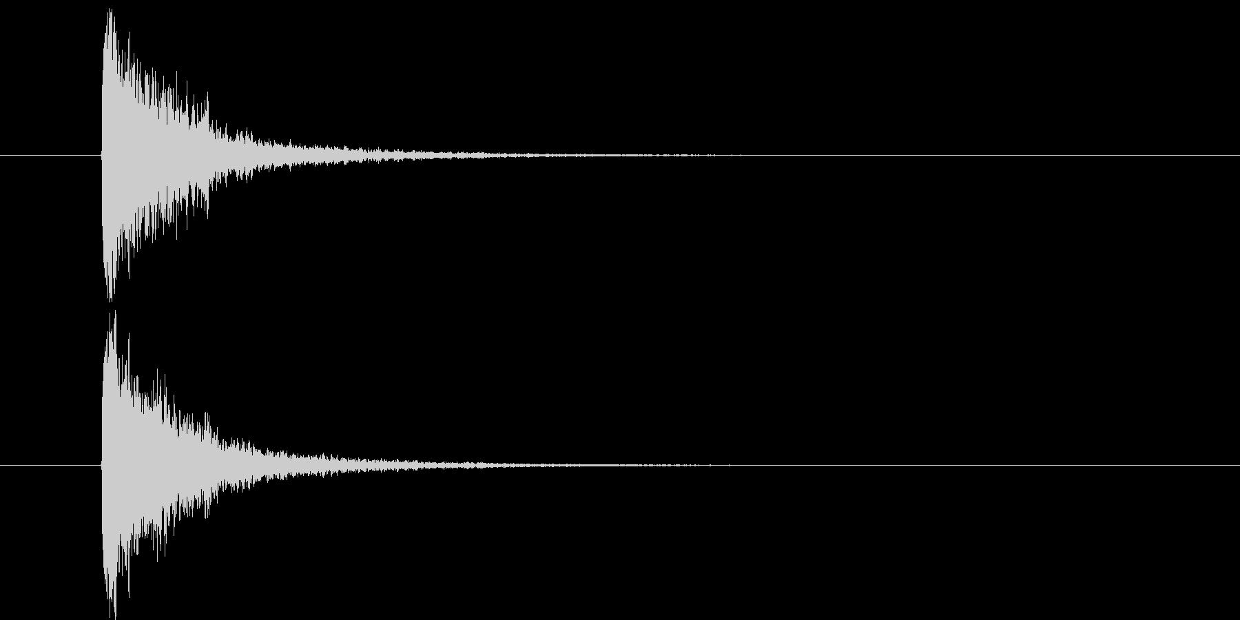 スネア音_メタルコア・ラウド系の未再生の波形