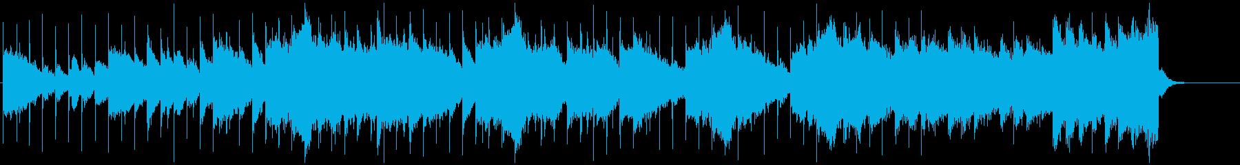 スローなサスペンスの再生済みの波形