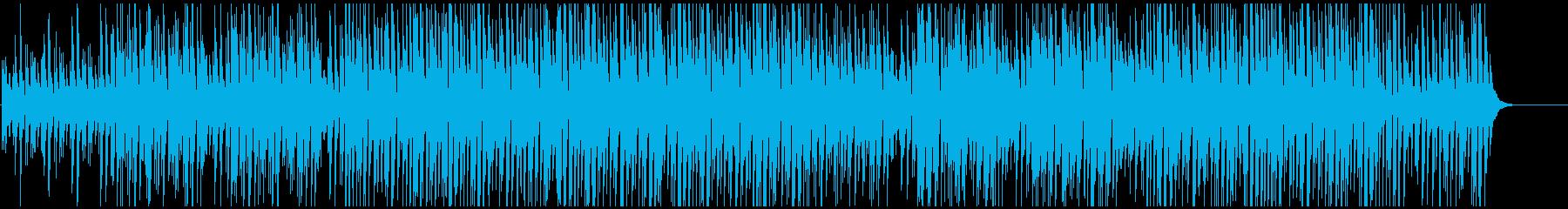 CMや映像に 旅行系ウキウキ気分像の再生済みの波形