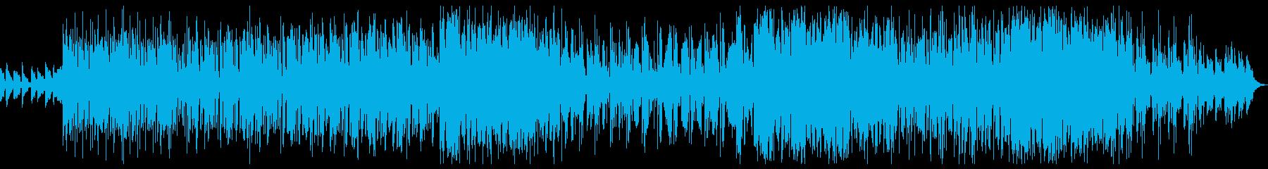 トロピカルハウスEDM♪夏夜♪バイオリンの再生済みの波形