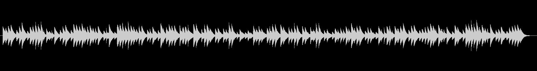 切ないオルゴールのBGMの未再生の波形