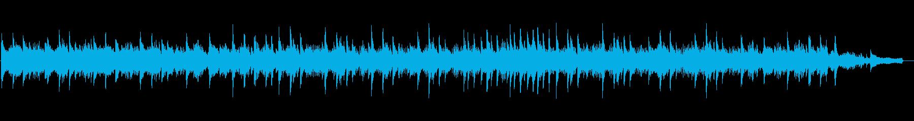 ホテルラウンジで流れる極上ピアノBGMの再生済みの波形