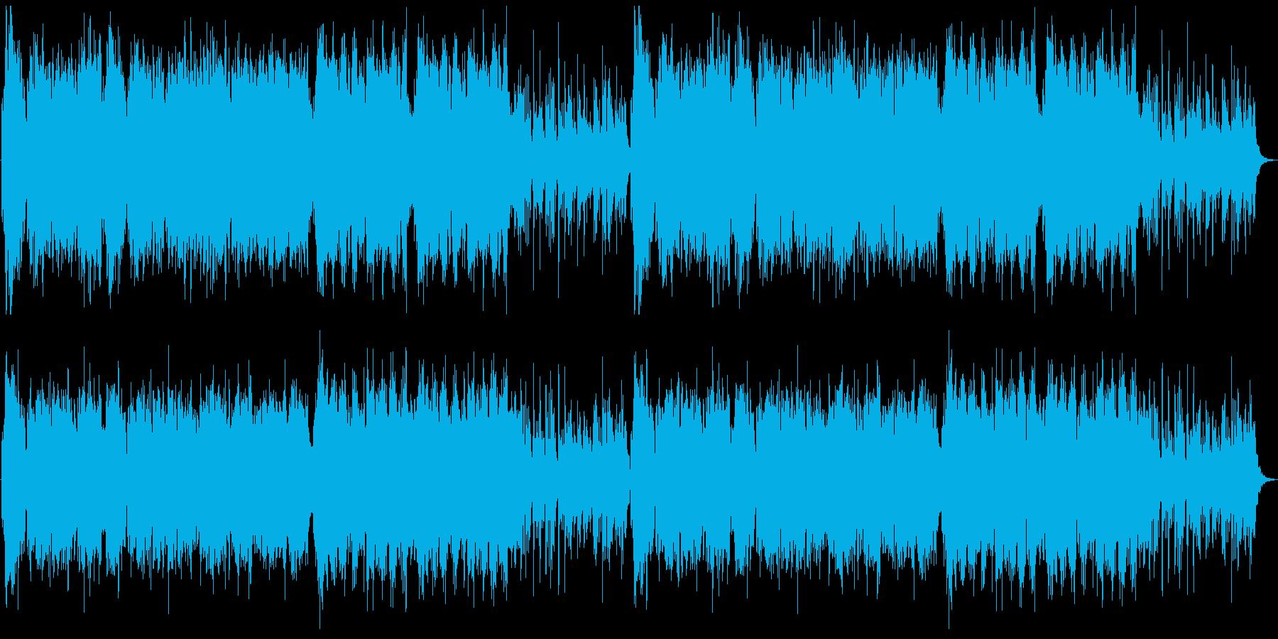 尺八&琴の切ない和風曲の再生済みの波形