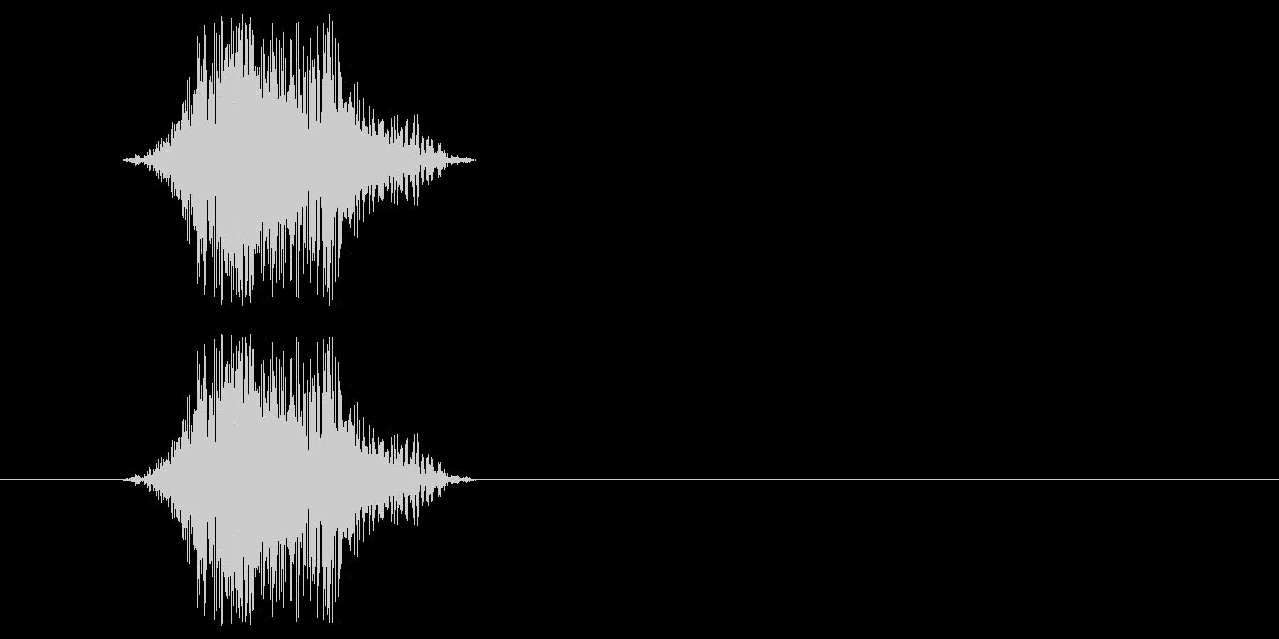 ヒーロー動作(m0289)の未再生の波形