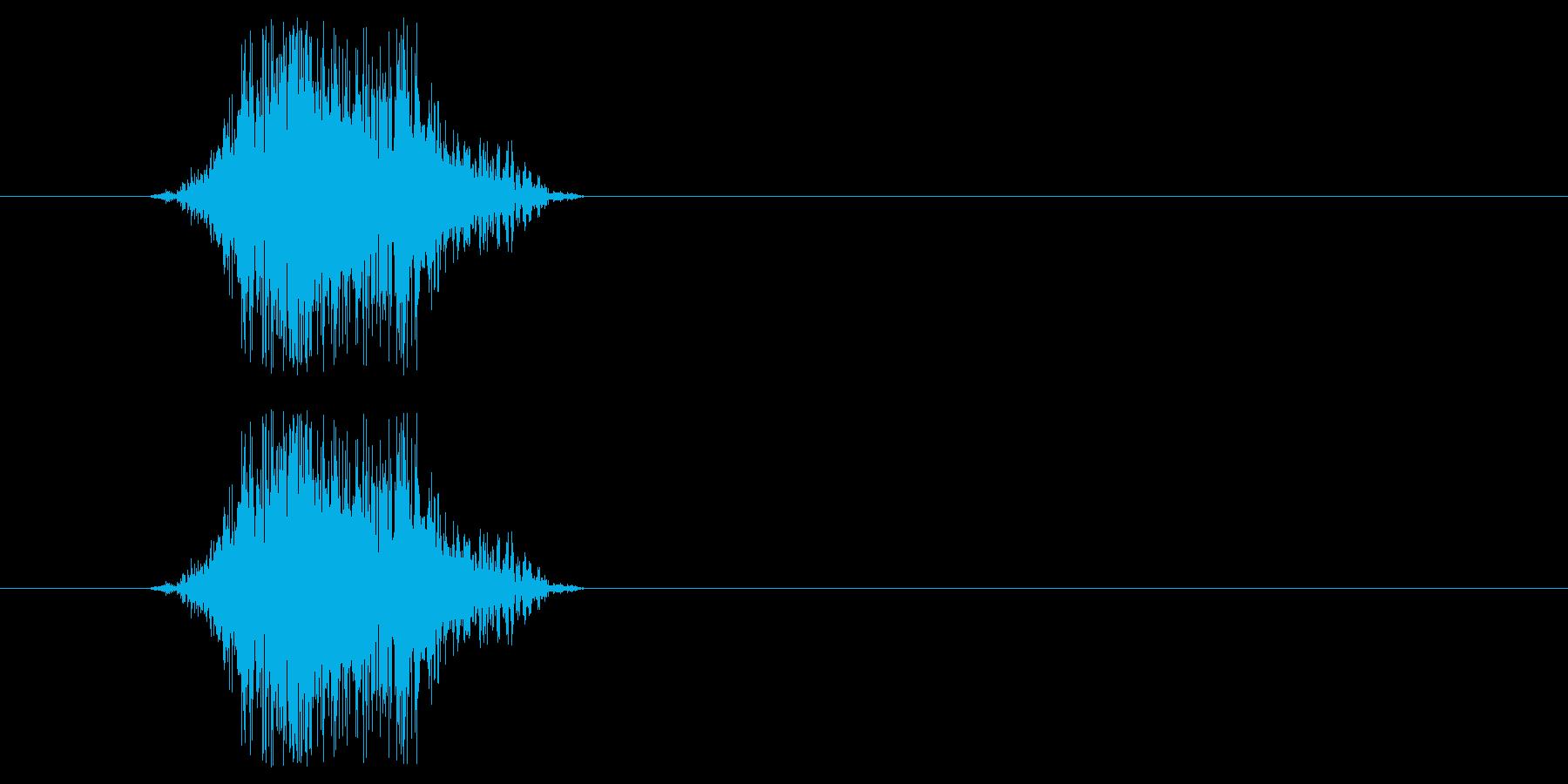 ヒーロー動作(m0289)の再生済みの波形