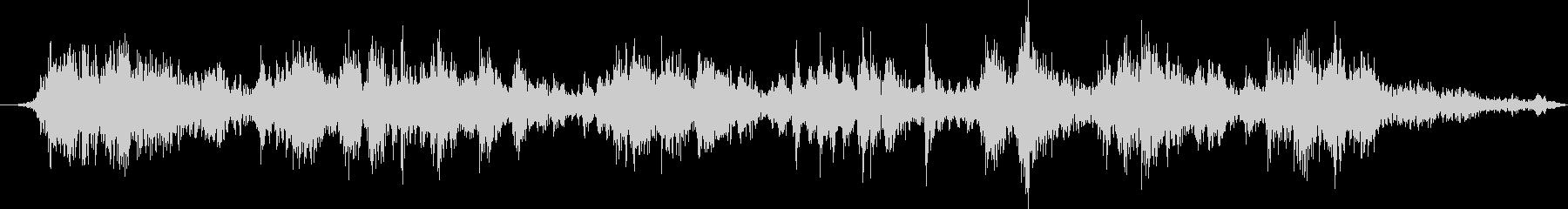 ピアノ:サウンドボードの弦の擦り傷...の未再生の波形