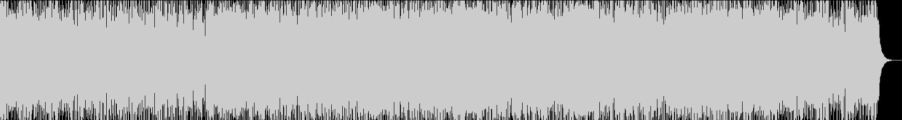 電子の海をイメージしたEDMの未再生の波形