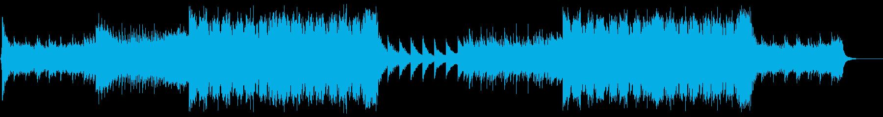 EDM 感動的・ピアノの再生済みの波形