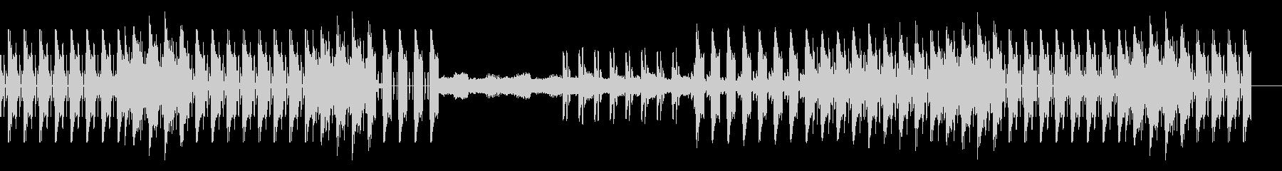 スチームパンク風、楽しい音遣いのBGMの未再生の波形