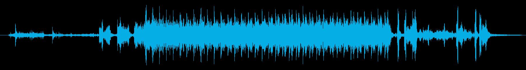 メカニカルサーボ:リセット動作、油...の再生済みの波形