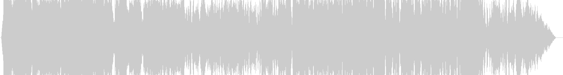 オーケストラのラストバトル曲の未再生の波形