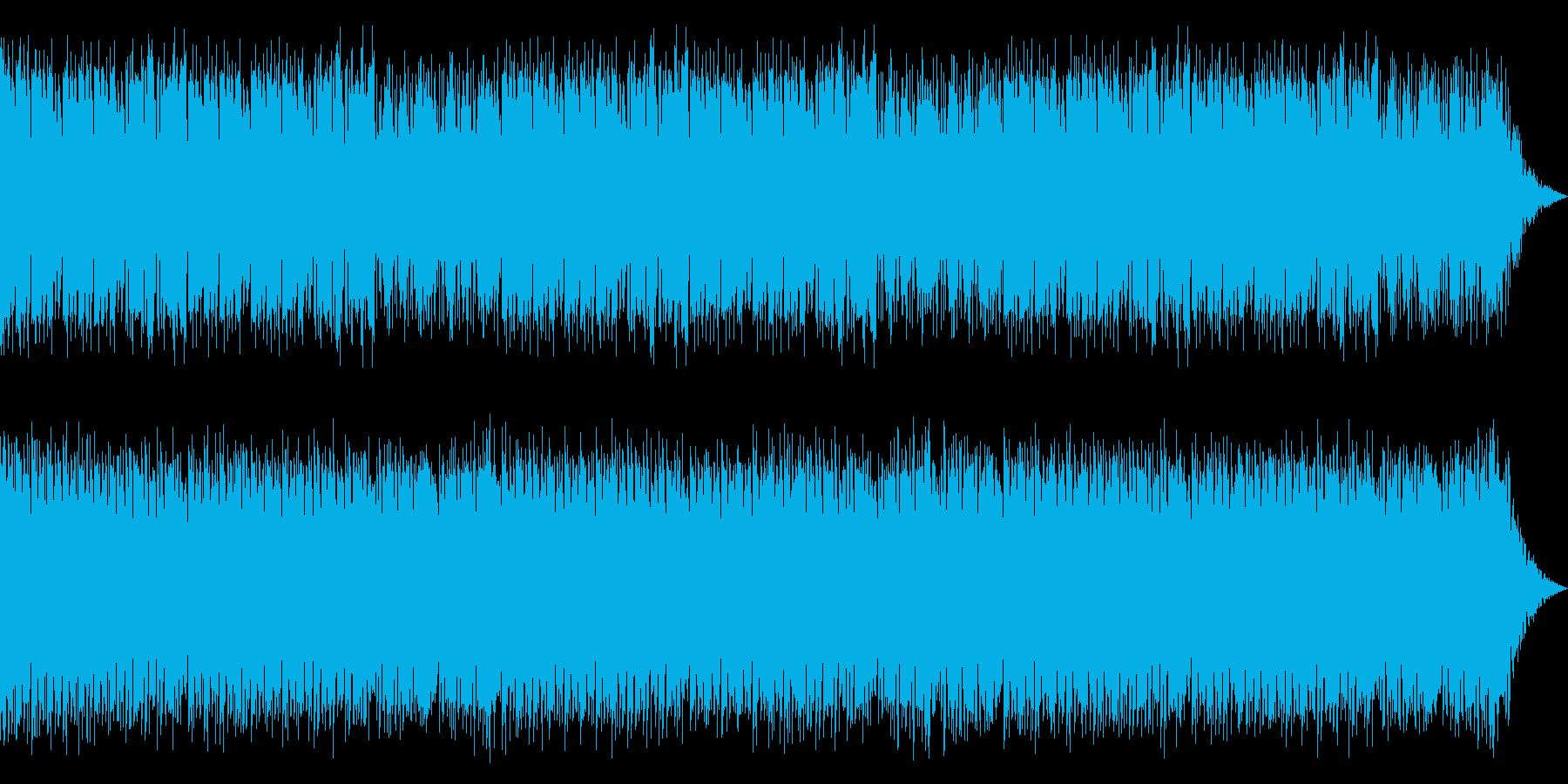 異国情緒溢れるケルト音楽の再生済みの波形