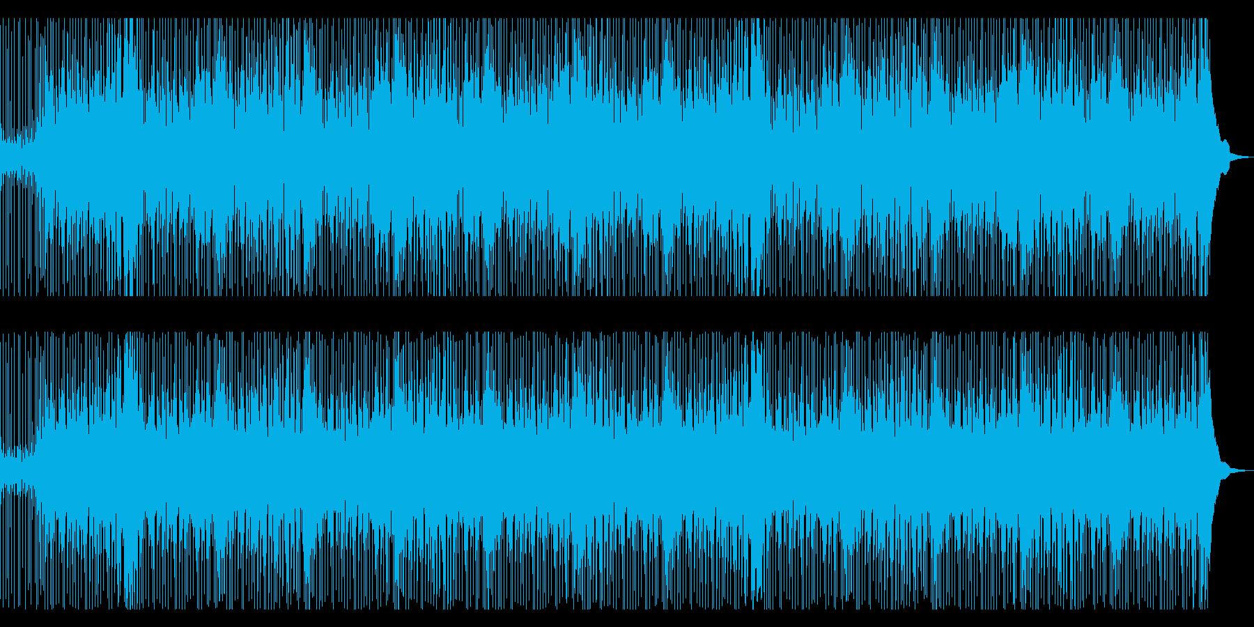 伝統的で温かな優しい童謡音楽の再生済みの波形