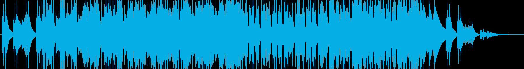 RPGの洞窟感漂うミディアムテンポ曲の再生済みの波形