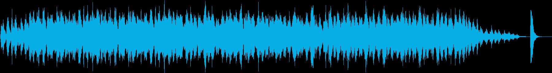 ピチカートとフルートによる素朴な日常系の再生済みの波形