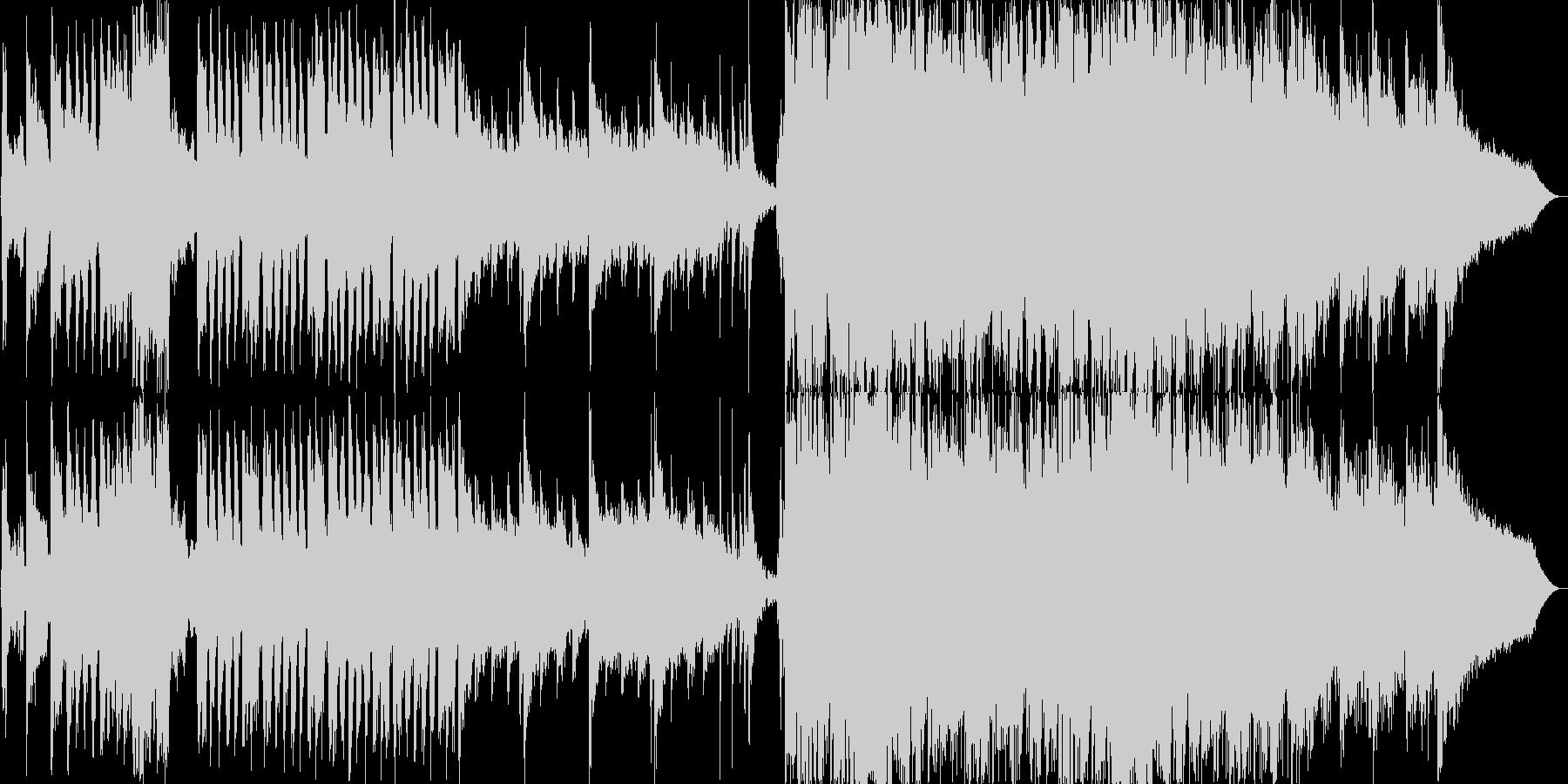 和風ループ音源アップテンポの未再生の波形