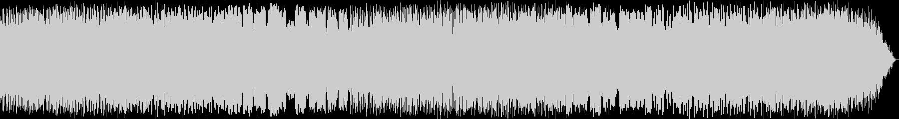 のどかな竹笛のヒーリングミュージックの未再生の波形