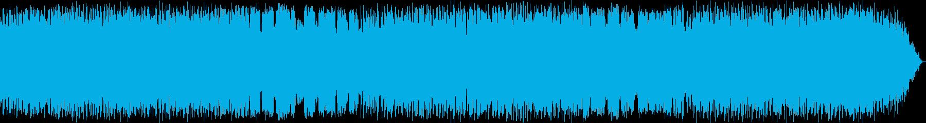 のどかな竹笛のヒーリングミュージックの再生済みの波形