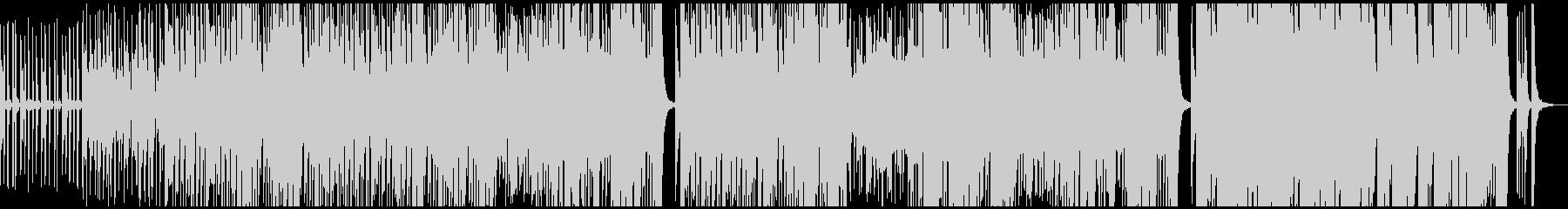 ミステリアスでエレクトリックなサウンドの未再生の波形