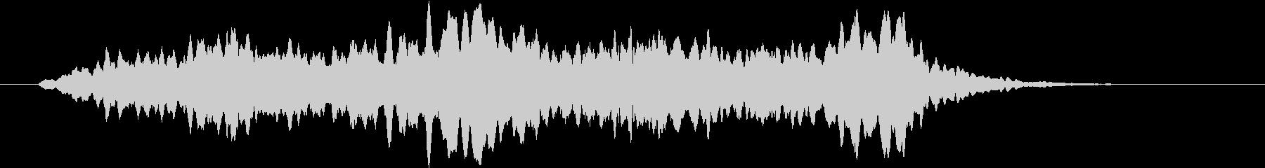 モーニングホライズンセカンドの未再生の波形