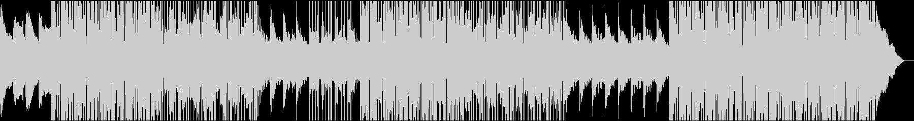 歪んだエレキギター ミドルテンポ ビートの未再生の波形