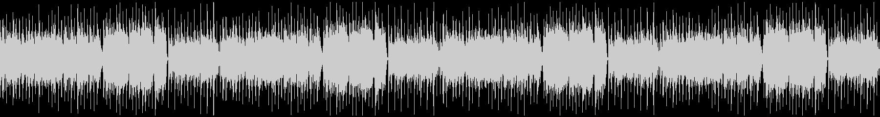 優しく可愛らしい、マンドリンのフォーク曲の未再生の波形