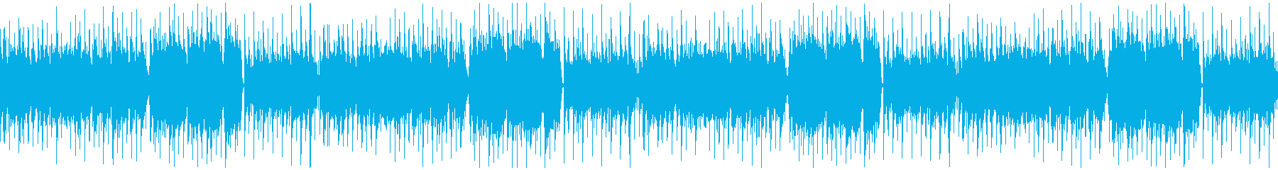 優しく可愛らしい、マンドリンのフォーク曲の再生済みの波形